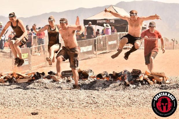 Las Vegas Spartan Sprint2017